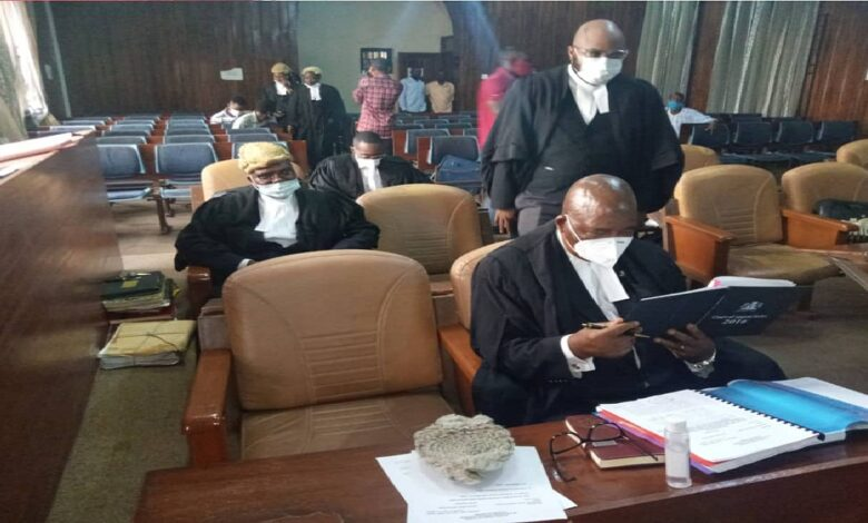 Sotitobire Trials: Lawyers, Journalists arrive in court on Monday over appeal judgement