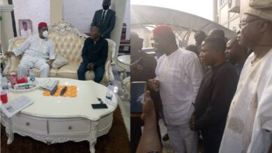 VIDEO: Femi Fani Kayode Visits Sunday Igboho (Photos)