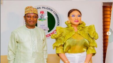 Actress Tonto Dikeh Becomes Nigerian Christian Pilgrim Commission Ambassador