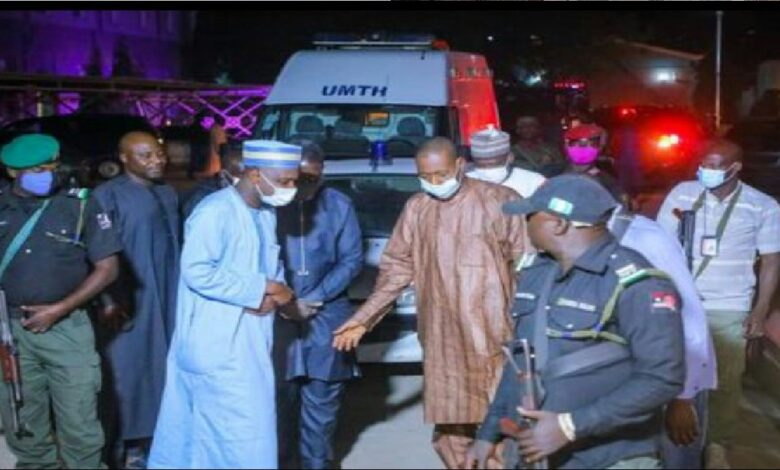 Zulum Visits Hospitals, Confirms people killed, Injuried After Boko Haram Attack