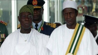 Obasanjo finally speaks on Umaru Yar'adua illness(Throwback Photos)