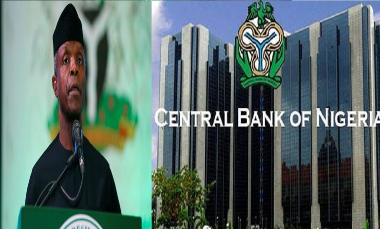 Osinbajo opposes bitcoin, other cryptocurrency ban, advocates regulation