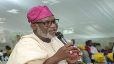 Ondo: Set up local vigilantes to tackle insecurity, Akeredolu tells council chairmen