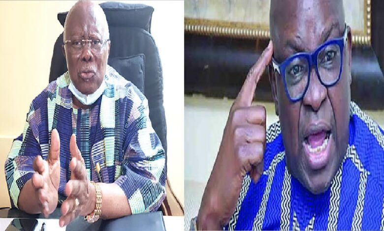 Bode George Describes Fayose Behaviour As A Heavily Disturbed Child