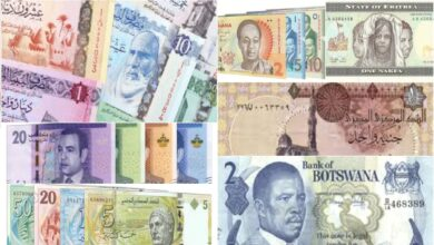 Top 10 countries with the most valuable currencies in Africa 2021