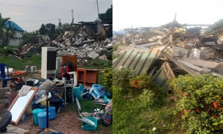 Gov Obaseki Demolishes Houses Of Oshiomhole's Allies In Edo