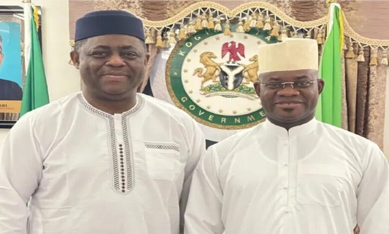 Governor Yahaya Bello Advises The FG To Apply Local Solutions To National Problems