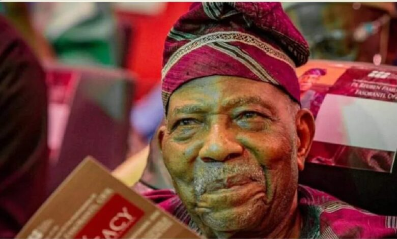 JUST IN: Fasoranti steps down as Afenifere national leader, announces Replacement