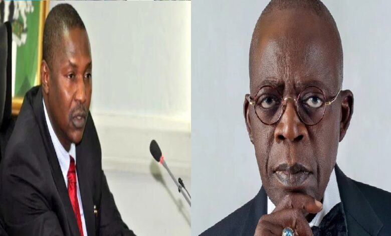 Tinubu Could Be Probed By EFCC, CCB - Says Malami