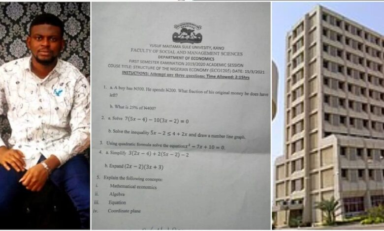 Nigerian Shares University Question Paper, Says It's Easier to Get 1st Class in the North, Elicits Reaction