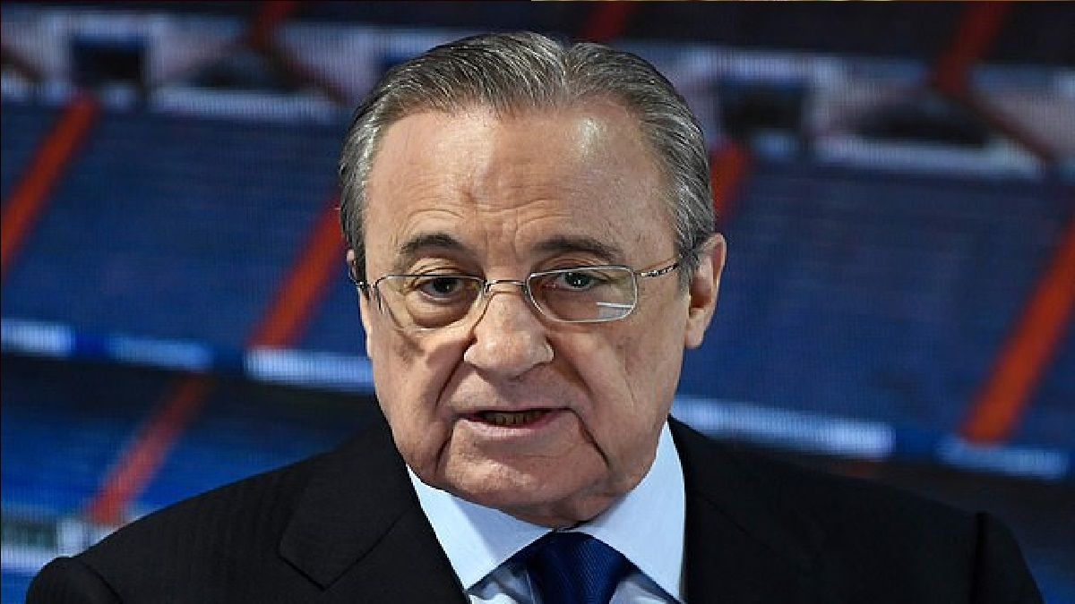 The Real Madrid president is the first chairman of the competition, which has come in for criticism from all sides since its confirmation after midnight on Sunday.