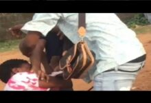 VIDEO: Two Ladies Fight Dirty in Public Over a man in Ikere