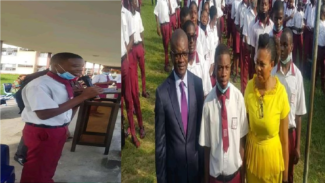 Secondary School Boy Who Returned Missing Phone Bags 2 years University Scholarship, Other Gifts