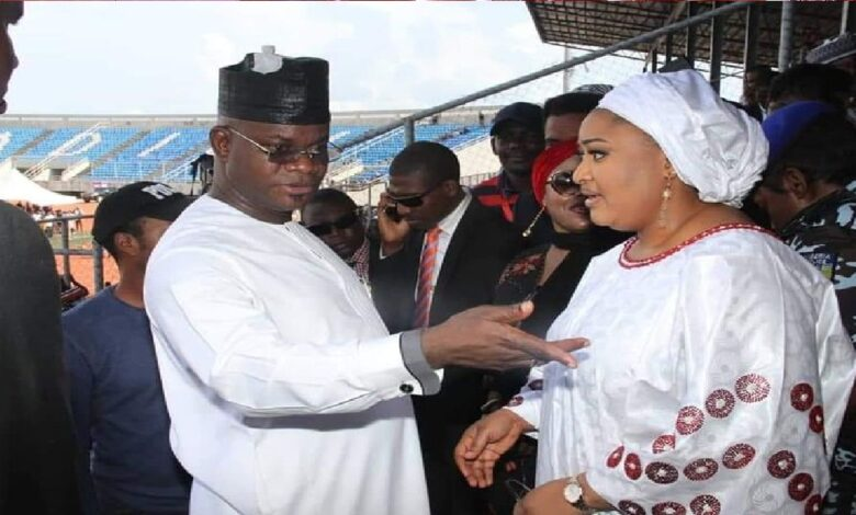 I'm in full control of my wife and Kogi-Yahaya Bello