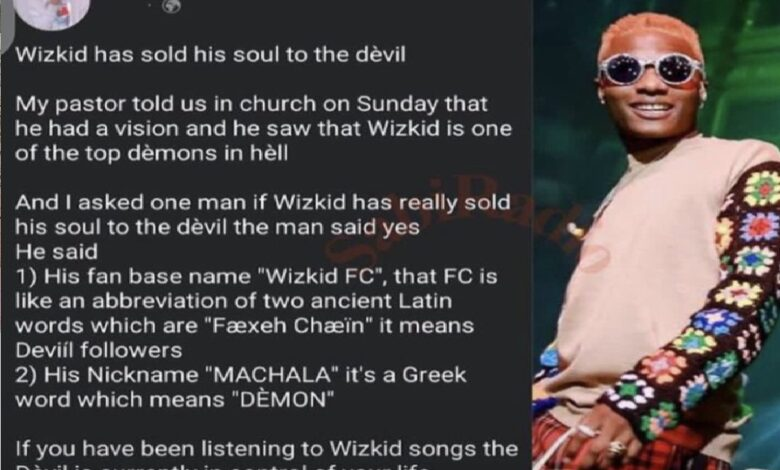 Daddy Freeze Reacts as a Pastor Alleges Wizkid has Sold His Soul to the Devil