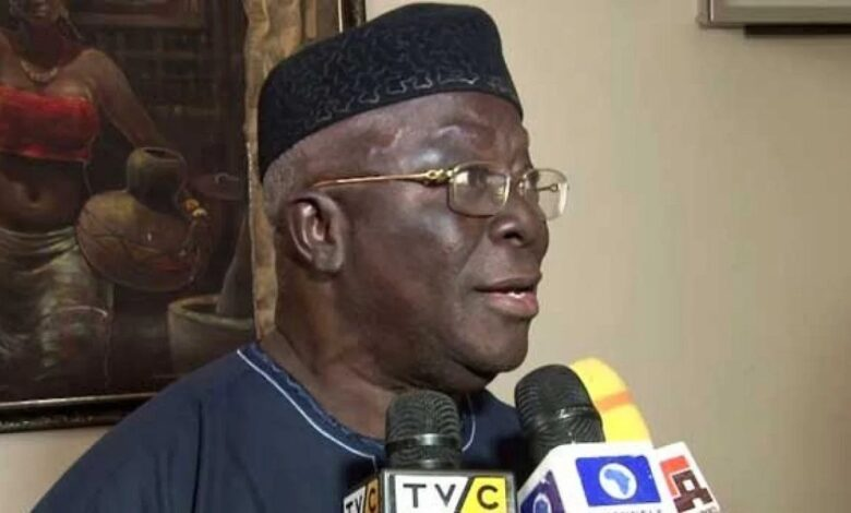 Youth has failed this country- Chief Adebanjo