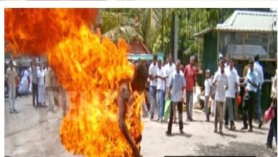 Suspected Thief Burned For Stealing Handkerchief In Anambra