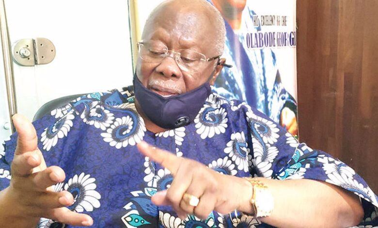 Why Secondus Cannot Preside Over PDP National Convention - Bode George