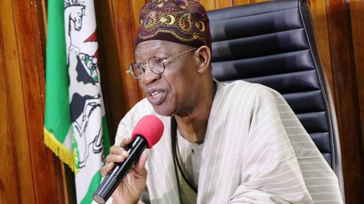 VIDEO: You Are Hurting Yourself For Using A VPN To Access Twitter- Lai Mohammed
