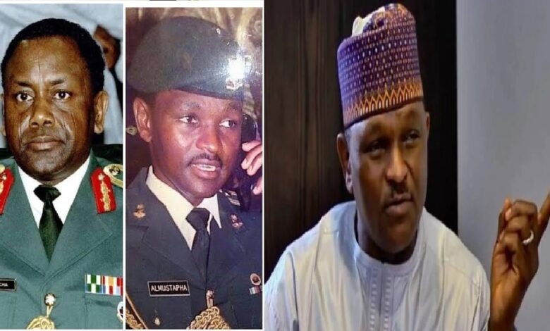 """How Abacha Died, He Didn't Die After Eating Apples From Prostitutes, """" Says Major Al-Mustapha"""