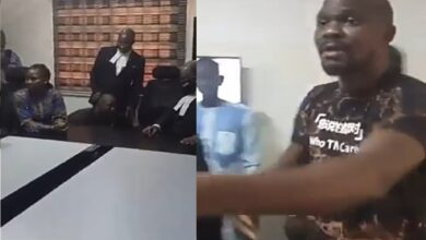 VIDEO: See How Baba Ijesha Prostrates For His Lawyer After Being Granted Bail