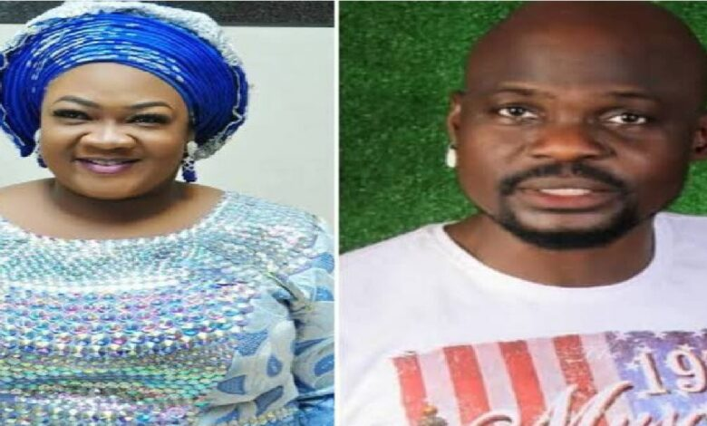 A young woman identified as Ewatomi Ayeni, who was at the Lagos magistrate's court, Yaba on Wednesday, June 17, has claimed that Nollywood actor, Olanrewaju Omiyinka, popularly known as Baba Ijesha is innocent of the allegations against him.
