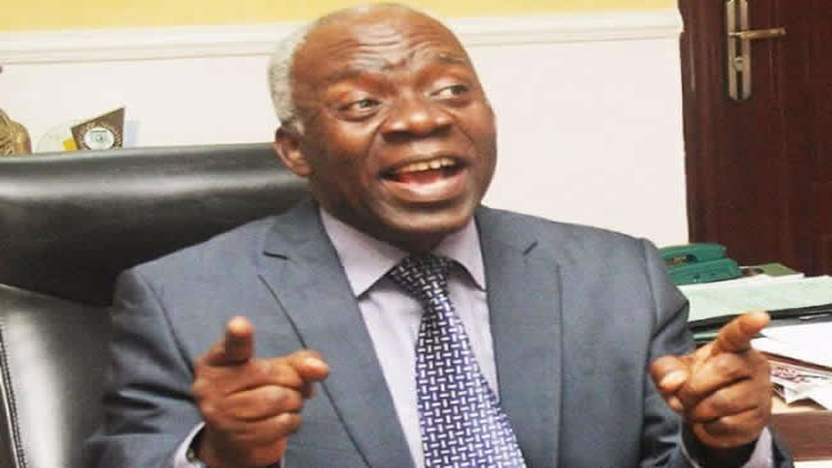 """Human rights lawyer, Femi Falana, has described the invasion carried out on the Ibadan residence of Yoruba activist, Sunday Adeyemo, aka Sunday Igboho, last Thursday by operatives of the Department of State Services, DSS, as a """"nocturnal coup""""."""
