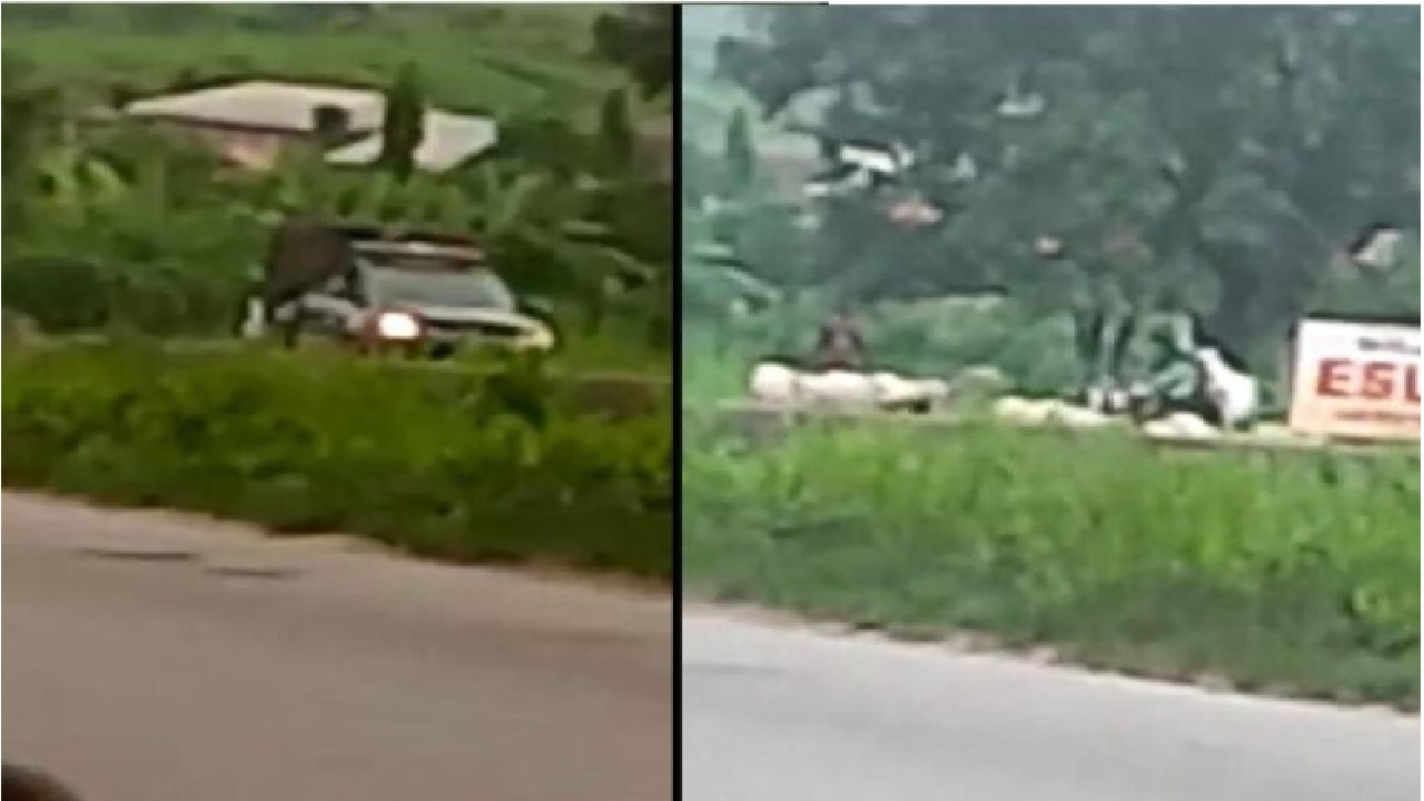 VIDEO: Soldiers escort Fulani herdsmen as they defy open grazing in South West