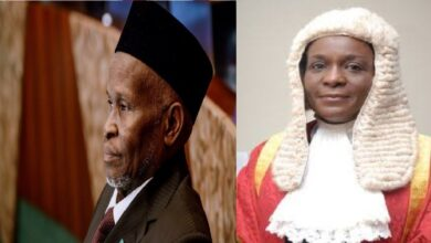 CJN Orders Justice Olasunbo To Retake Oath After Mentioning Allah