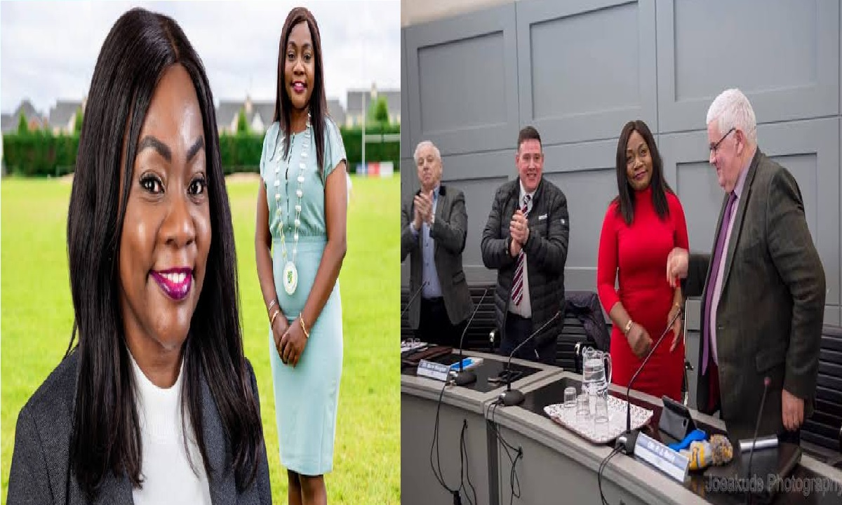 Nigerian Becomes First Black African Woman Elected As Mayor In Ireland