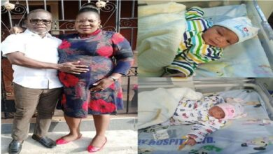 Celebrations As Couple Welcomes Twins After 21 Years Of Marriage