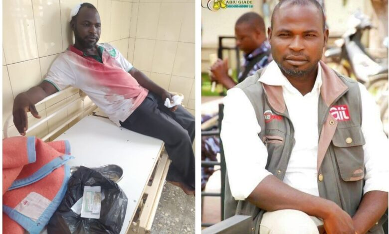 Police Beat Up AIT Reporter Covering Students' Protest In Bauchi
