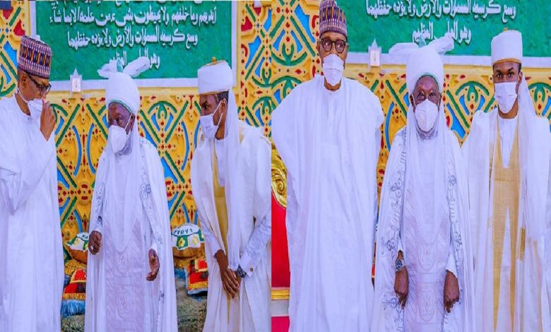 Nigeria lucky to have Buhari, it would have been difficult without him— Emir speaks