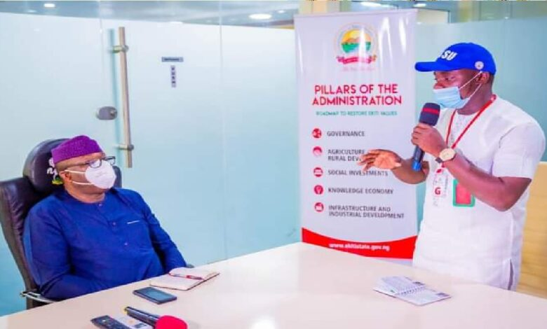 APC Youths Asked For 30%, We'll Give Them 40%- Fayemi