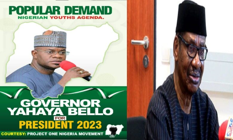 2023: I Do Not Know Which Record Yahaya Bello Will Campaign With- Sagay