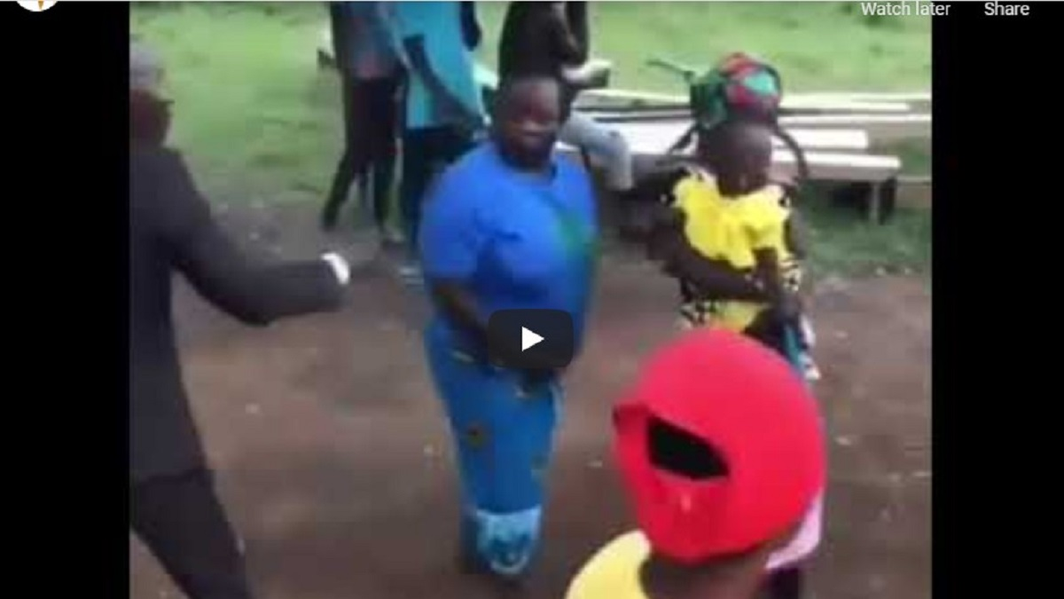 VIDEO: Woman Fights Pastor Who Tried To Lay Hands On Her At A Church Program