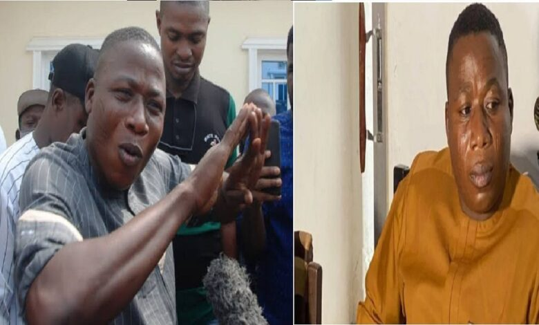 JUST IN: Sunday Igboho's Wife Abducted By Gunmen