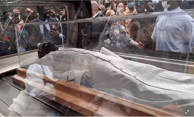 BREAKING: TB Joshua's corpse arrives SCOAN for lying-in-state (PHOTOS)