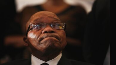 VIDEO: Zuma Surrenders to the Police, Begins 15-Month sentence
