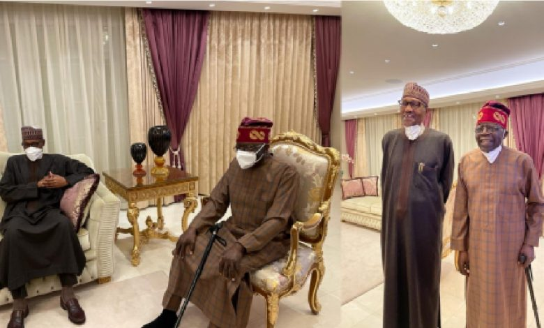 Tinubu, Aides Angry With Presidency For Releasing His Pix With Walking Stick