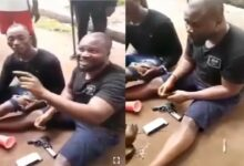 VIDEO: US-Based Nigerian Doctor Caught With A Gun & Disgraced