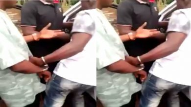 VIDEO: Police Officers Caught With Weed, Arrested By Vigilante