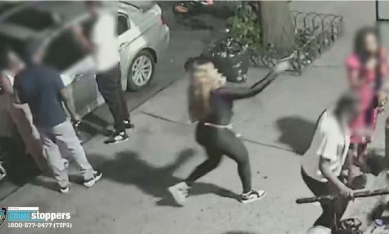 CCTV Camera How A Woman Shot Another Woman To Death On A Busy Street