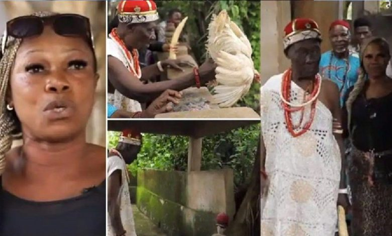 How Popular Pastors Come To Our Shrine To Get Power – Chief Priest Wife Reveals