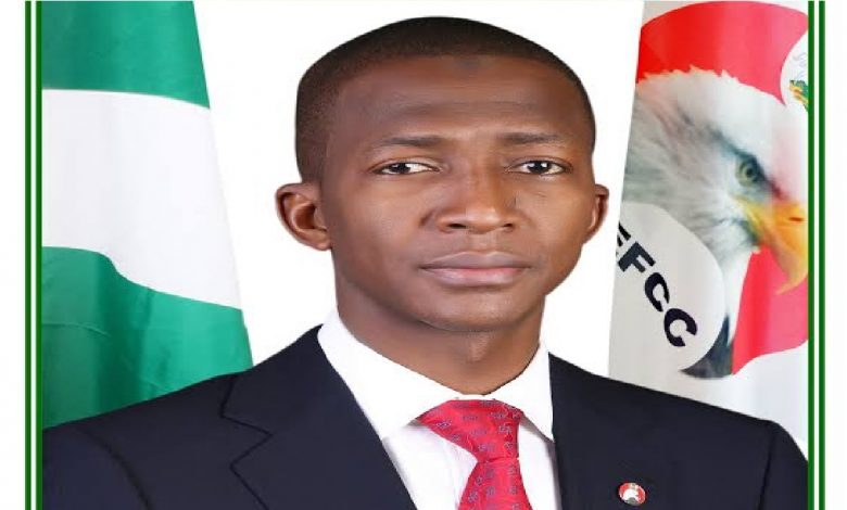 Abdulrasheed Bawa, EFCC boss said issue of terrorism financing is of national security concern that cannot be divulged in public.