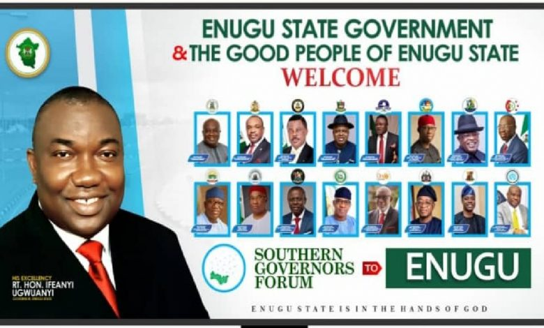17 Southern Nigerian Governors To Meet In Enugu On Thursday