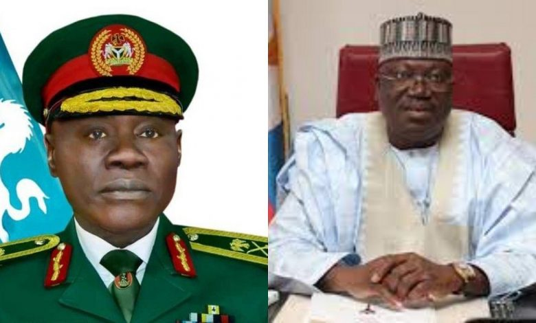 Don't abandon fight against insecurity for FG – Lawan, Yahaya tell Nigerians