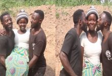 """VIDEO: """"We Share Her Peacefully"""" – Twin Brothers Who Married One Wife"""