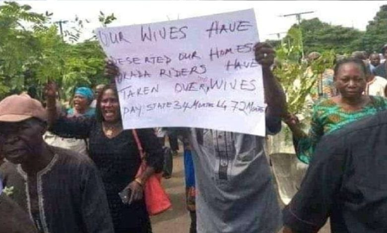 We Have Lost Our Wives To Okada Men' – Benue Pensioners Protest