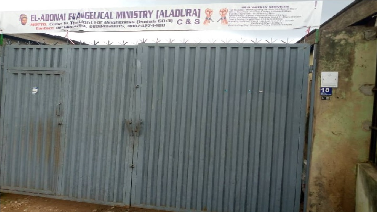 Worshippers Electrocuted In Lagos Church